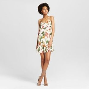 Women's Drop Waist Strappy Shift Dress Xhilaration